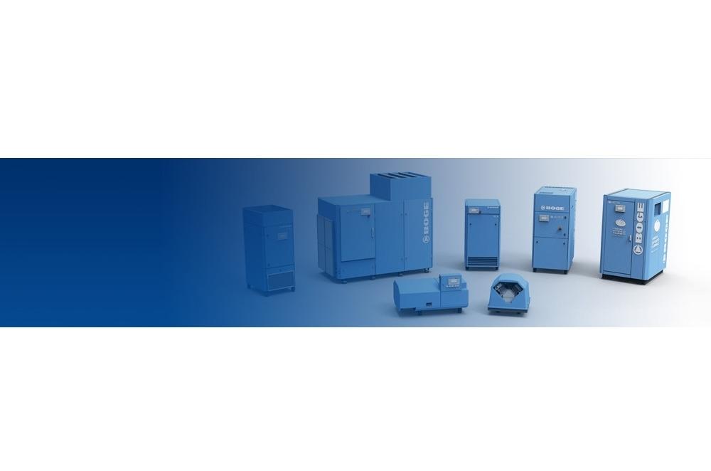 Sistemas de aire comprimido médico de BOGE