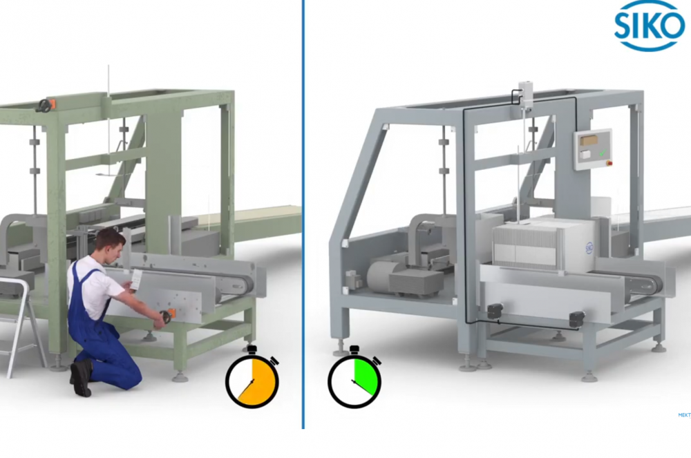 ¿Comprar una nueva máquina de producción o envasado o modernizar la existente? SIKO da la respuesta