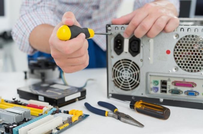 Reparación de equipamiento